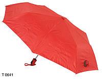 Зонт женский полуавтомат красный, фото 1