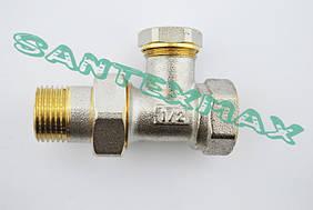 Вентиль прямой радиаторный Koer kr.904 1/2x1/2