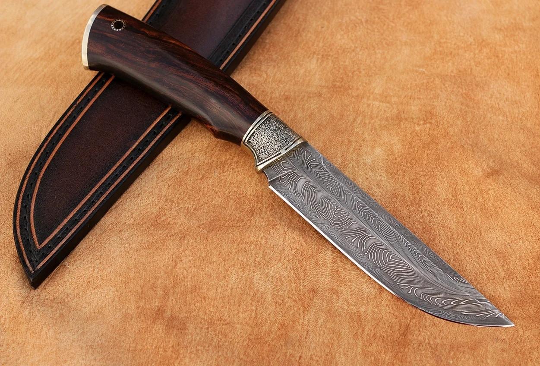 """Нож ручной работы из дамасской стали """"Оригинальный"""""""
