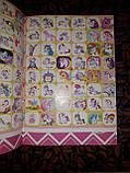 Раскраска детская А5 для девочек My little pony маленькая пони Дисней в наборе идет 80 наклеек RASK11, фото 2