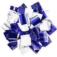 Конфетти-Метафан ЛК215 Сине-Белый 2х6 1кг, фото 1