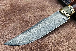 """Нож ручной работы из дамасской стали """"Надёжный"""", фото 2"""