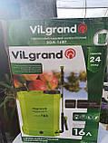 Опрыскиватель аккумуляторный Vilgrand 16 л, фото 3