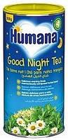 Чай детский Сладкие сны в гранулах 4м+ 200г Humana Германия 73101