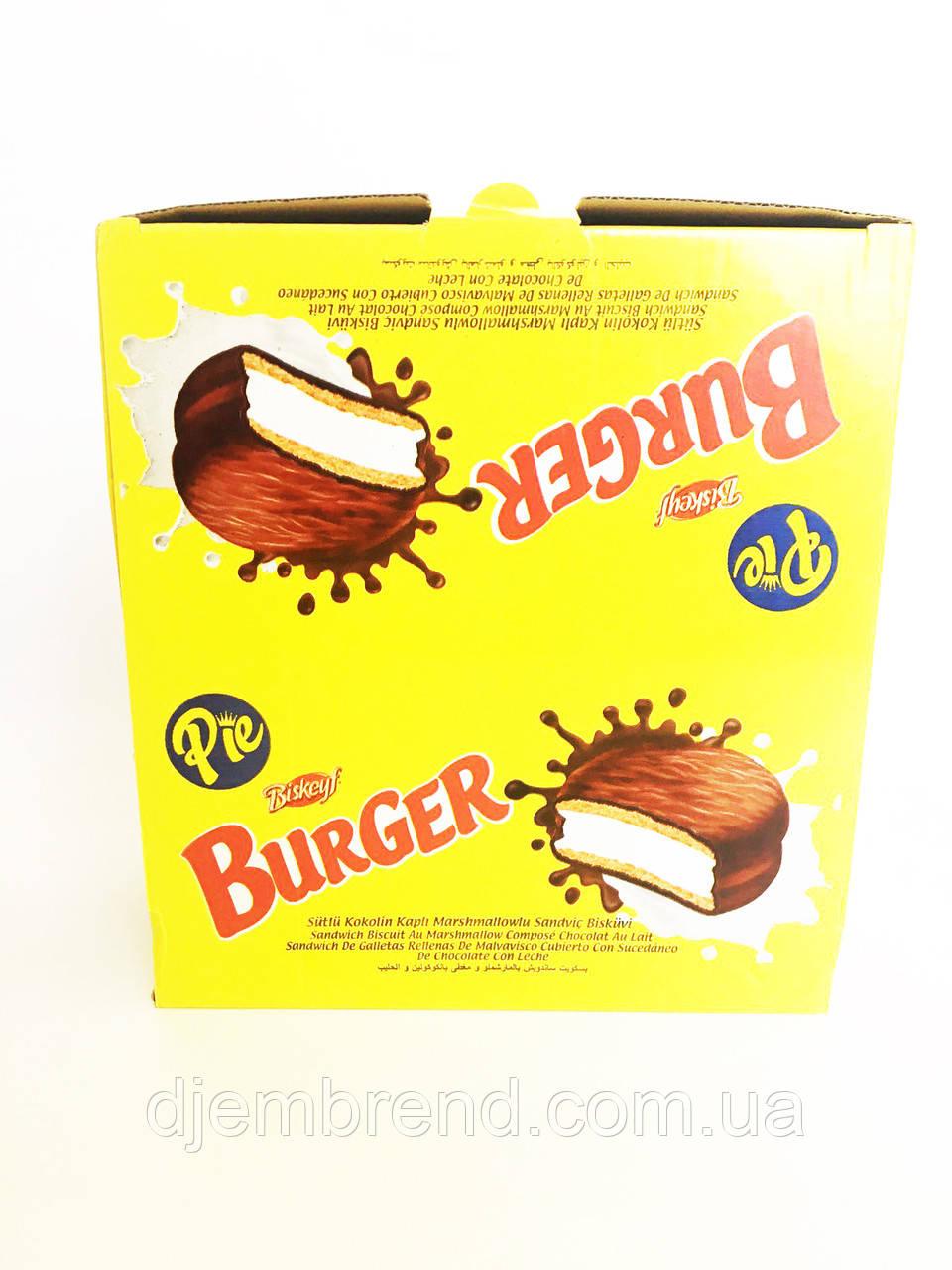 Печенье burger с маршмелоу