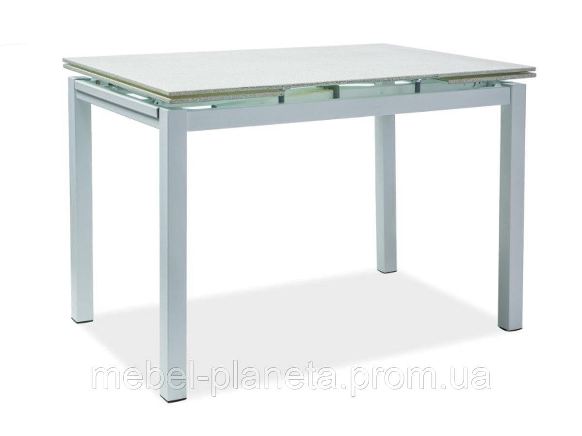 Стол стеклянный раскладной TURIN (Сигнал)