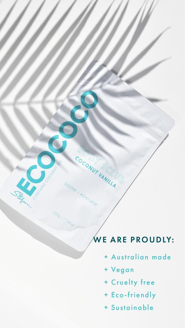 Ecococo Coconut Vanilla Body Scrub