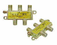 Сплиттер, разветвитель антенный ALDA 4-way
