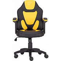 Геймерское детское кресло GT Racer X-1414 Black/Yellow (Kids)