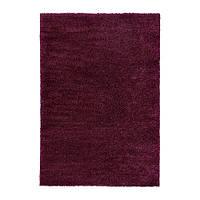 ÅDUM Ковер, длинный ворс, фиолетовый, 170х240