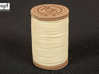 Galaces Ramie 0.55 мм белый (S000) нить круглая из волокон рами вощёная по коже