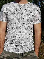 Футболка мужская  Турция  Размер   с м л  хл ххл    В ростовке  5шт расцветки