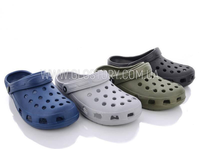 Мужские кроксы в разных цветах размеры 40-45