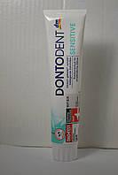 Зубная паста Dontodent Sensitive, 125 мл, Германия