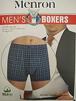 Трусы баталы мужские боксеры Menron 9117 underwear mens 5XL-6XL-7XL хлопок+бамбук ТМБ-1811618