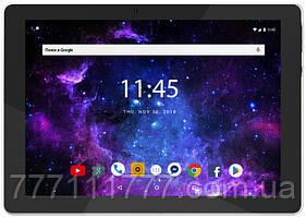 Планшет синий с большим дисплеем и хорошей мощной батареей на 2 сим карты  Assistant AP-108 Blue LTE Quad Core