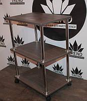 Тележка на колесиках / этажерка в парикмахерскую