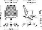 Кресло WEBSTAR GTP BLACK TILT PL62 с механизмом качания ТМ Новый Стиль, фото 5