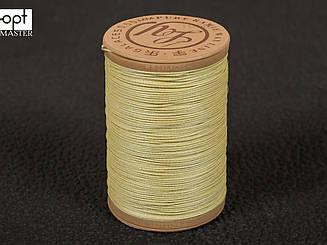 Galaces Ramie 0.55 мм светло-бежевый (М001) нить круглая из волокон рами вощёная по коже