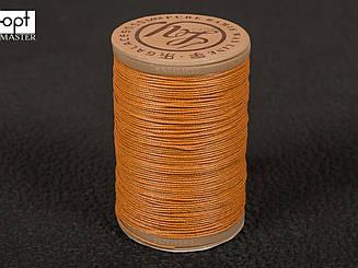 Galaces Ramie 0.55 мм рыжий (М002) нить круглая из волокон рами вощёная по коже