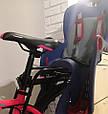 Детское Велокресло TILLY Maxi  от 1 до 7 лет (до 22 кг) Крепление на раму или багажник, фото 8