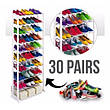 Органайзер стойка полка для обуви на 30 пар Amazing shoe rack, фото 5