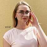 Имиджевые очки в черной оправе, фото 2
