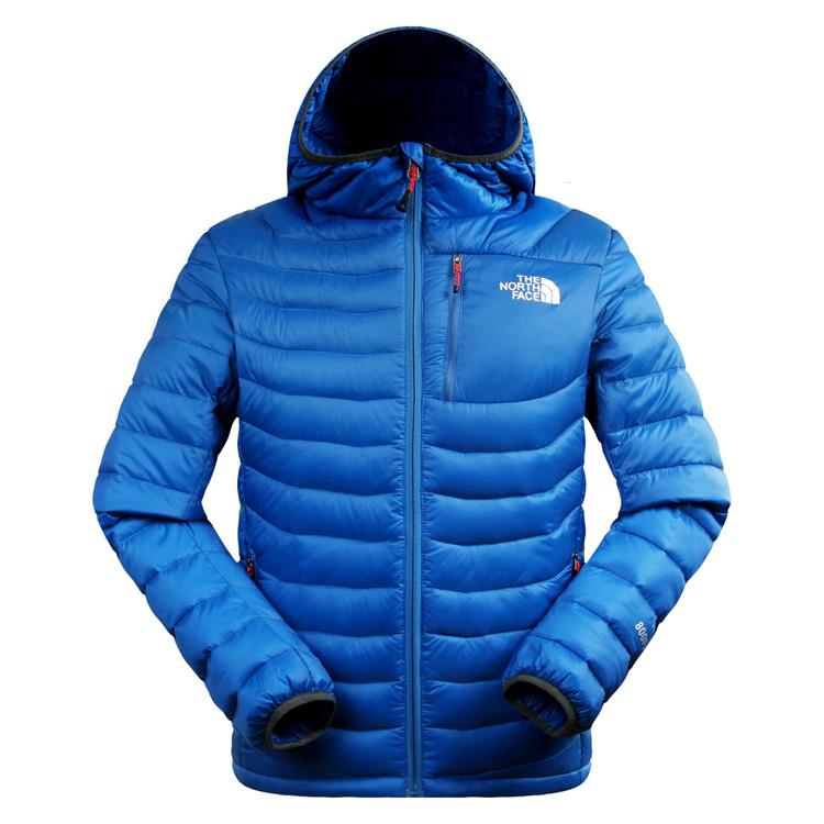 5915f2c61c16f The North Face ультра-тонкий супер теплый мужской пуховик 5 цветов -  Интернет-магазин