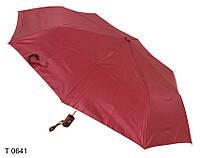 Зонт женский полуавтомат бордовый, фото 1