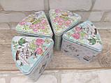 """Коробка подарункова """"Шматочок пирога"""" з жерсті, h-11 см 60 грн, фото 10"""