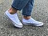 Женские кеды Converse белые реплика, фото 3