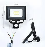 Светодиодный прожектор BIOM 20W S5-SMD-20-Slim+Sensor 6200К 220V IP65, фото 2