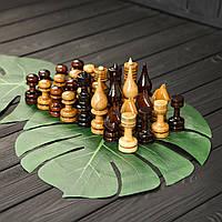 Набор элитных шахматных фигур из дерева ручной работы STRYI