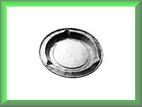 Пепельницы одноразовые из тонкого алюминия(фольги) диаметр 8.8 см A088 (упаковка 180 шт)