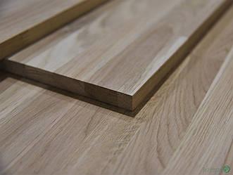 Мебельный щит из Дуба 18 мм 3,00 мх0,60 м (срощенный)