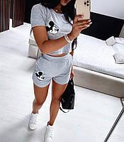 Женский костюм летнийфутболка+шорты,женские костюмы Новинка 2020, фото 1