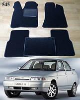 Коврики на Lada (Ваз) 2110-12 '95-14. Текстильные автоковрики, фото 1
