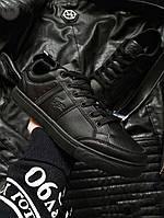 Мужская фирменная обувь Lacoste Total Black