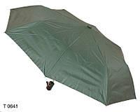 Зонт женский полуавтомат зеленый, фото 1