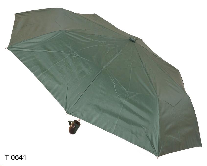 Зонт женский полуавтомат зеленый