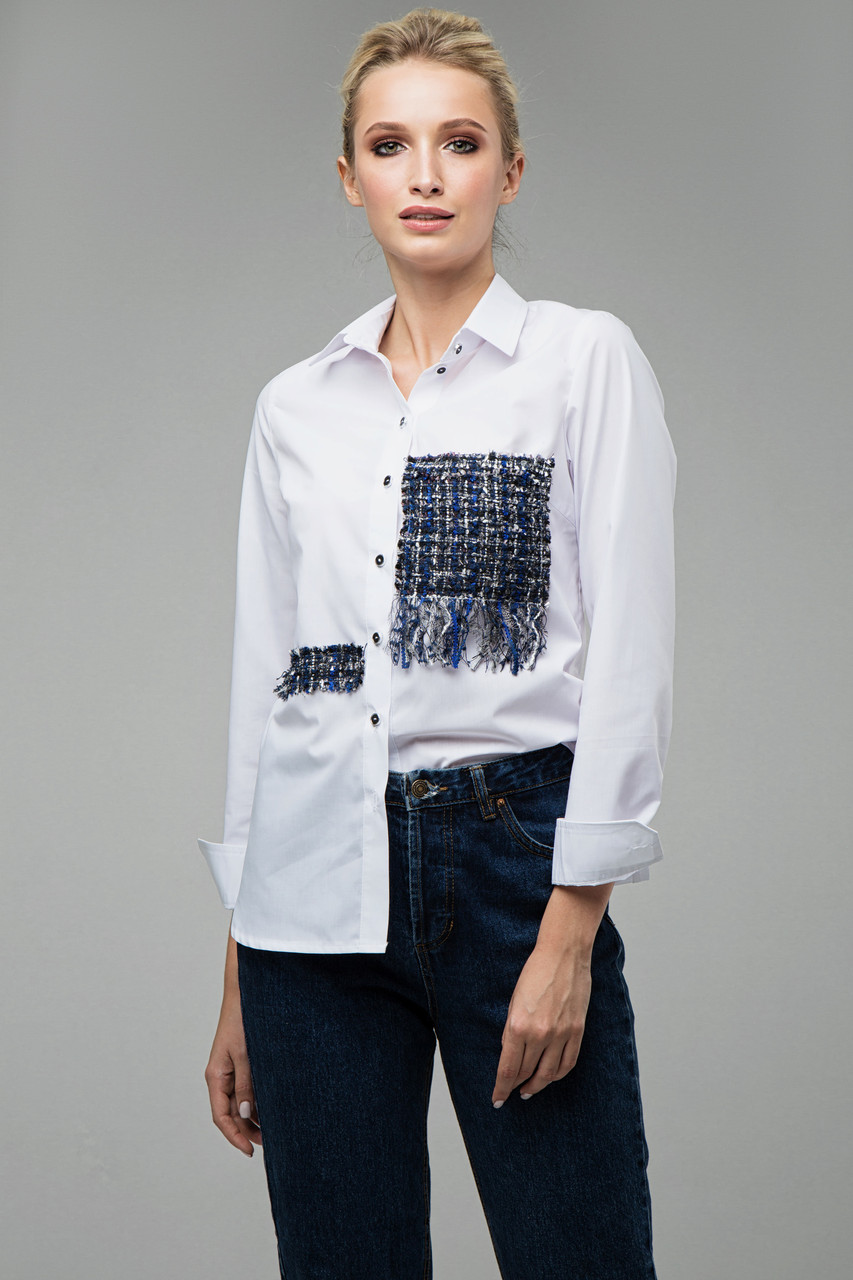 Рубашка белая Диана