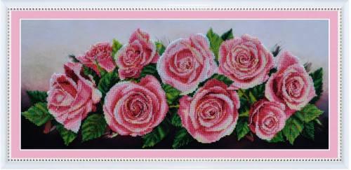 """Набор для вышивания бисером """"Розовое настроение"""", фото 2"""