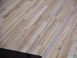 Щит мебельный Дуб 37 мм 3,00 мх0,90 м (сращенная ламель)