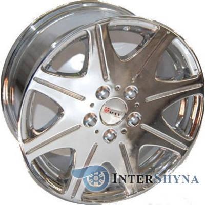 Литые диски Sportmax Racing SR-819 7.5x16 5x114.3 ET37 DIA67.1 Chrom, фото 2