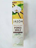 Jason Natural, PowerSmile, відбілююча зубна паста, перцева м'ята і ваніль, 170 г