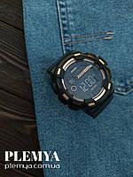 Часы спортивные/Часы мужские спортивные под спортивный стиль одежды Skmei/Скмей 1243 черные