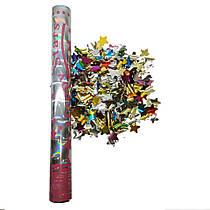 Пневмохлопушка SoFun звезды фольгированные 40 см