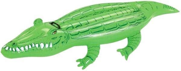 Детский надувной плавательный круг для плавания плотик крокодил