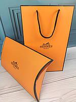 Подарочная упаковка в стиле Hermes Гермес конверт и пакет