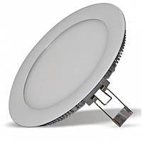Светодиодная панель 6w 360lm 165-265v 6500k круг Lemanso LM598 LED